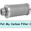 Carbon Filter Outside Grow Tent guide