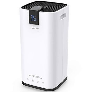 colzer 30 pints portable dehumidifier