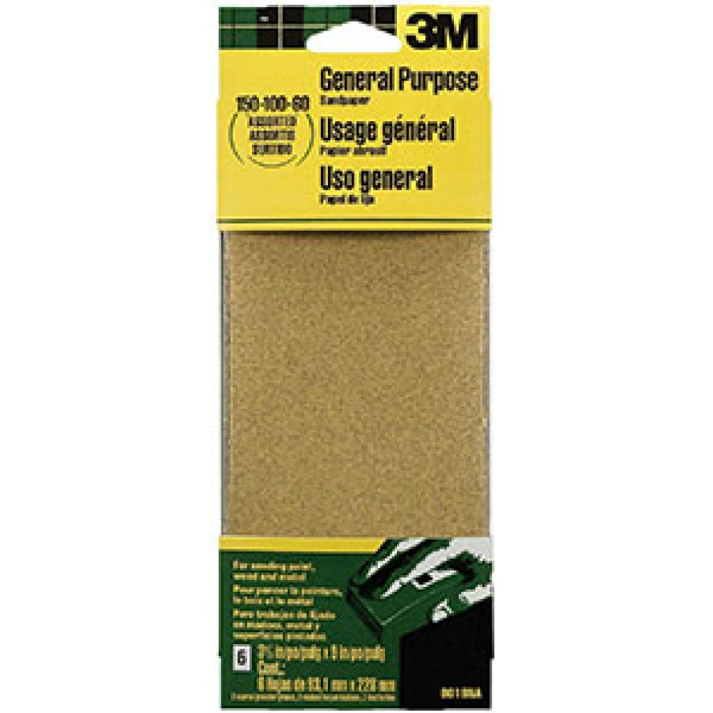 general purpose sandpaper sheets