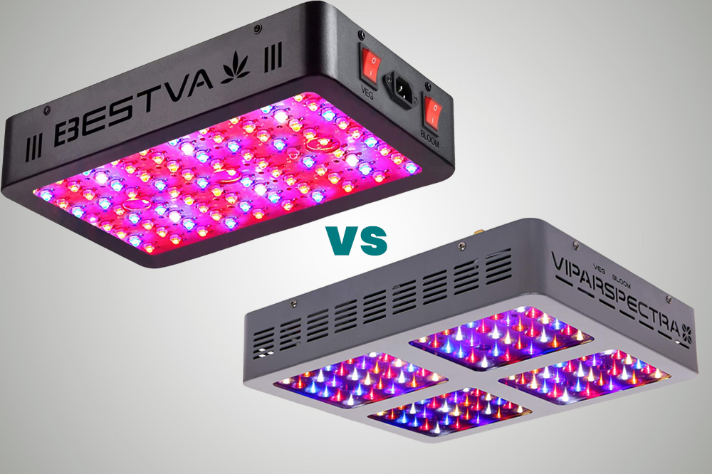 bestva vs. viparspectra led grow light